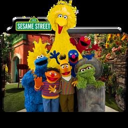 Sesame Street Folder Icon by dahlia069