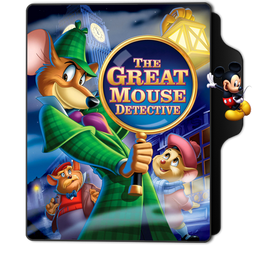 The Great Mouse Detective Folder Icon by dahlia069