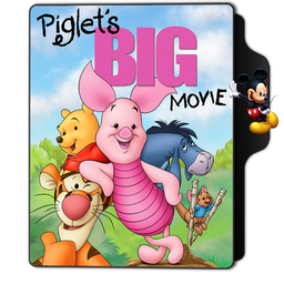 Piglet S Big Movie Folder Icon By Dahlia069 On Deviantart