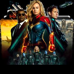 Captain Marvel Folder Icon by dahlia069 on DeviantArt