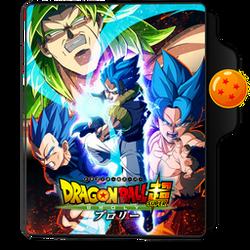 Dragon Ball Movies 22 Folder Icon by dahlia069