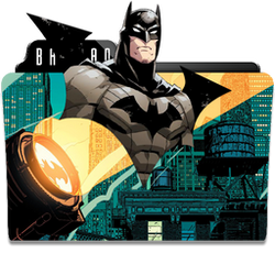 Batman (The Animated Movies) Folder Icon