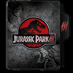Jurassic Park III Folder Icon by dahlia069