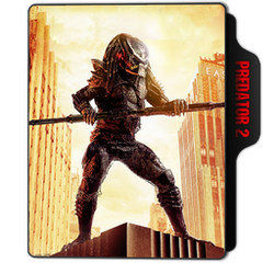 Predator 2 Folder Icon by dahlia069