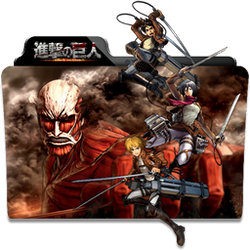 Attack on Titan Folder Icon by dahlia069