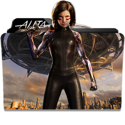Alita: Battle Angel Folder Icon by dahlia069