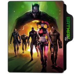 Batman: Assault on Arkham Folder Icon by dahlia069