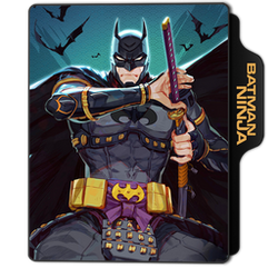 Batman: Ninja Folder Icon by dahlia069