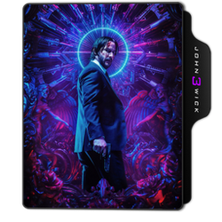 John Wick: Chapter 3 (Parabellum) Folder Icon by dahlia069
