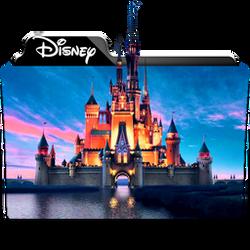Disney Collection Folder Icon by dahlia069