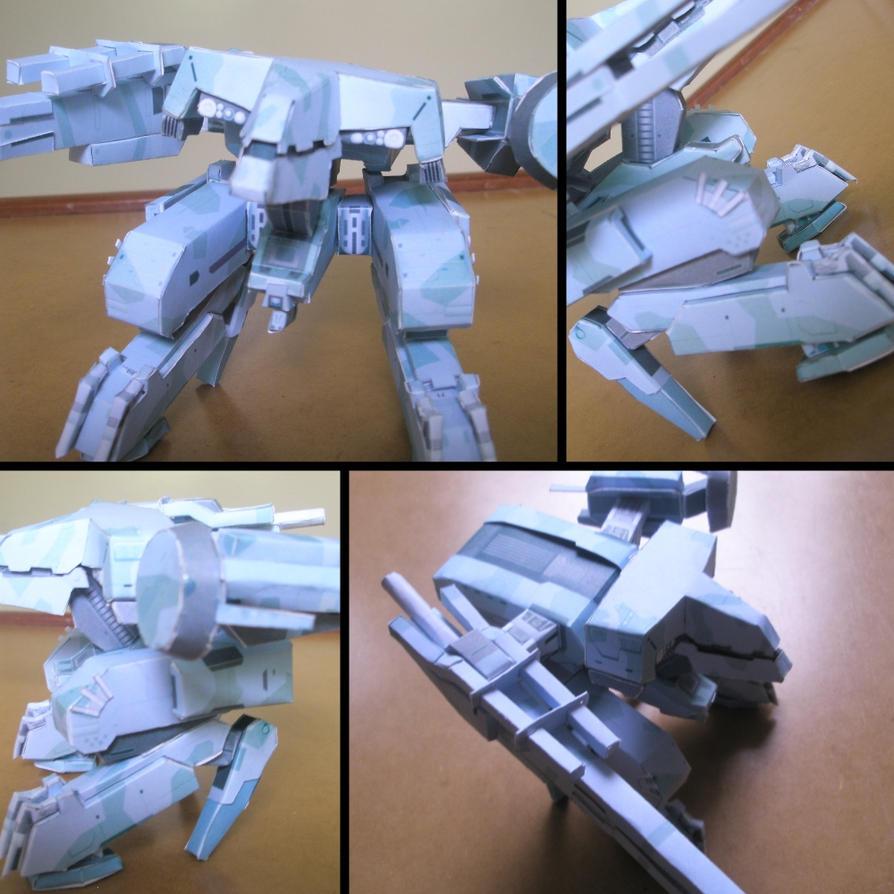 Metal Gear REX Papercraft By Ragnatic On DeviantArt