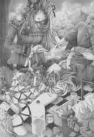 Commission: AngedeCristal (Aaluna and Riku) by BombayPiko