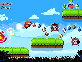 Kitten Getaway gameplay mockup by huzba