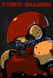 Cyber Shadow - Boss - Apparitor - Mugshot