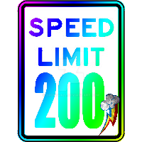 (Printable) Speed Limit Sign My Style by brony4all