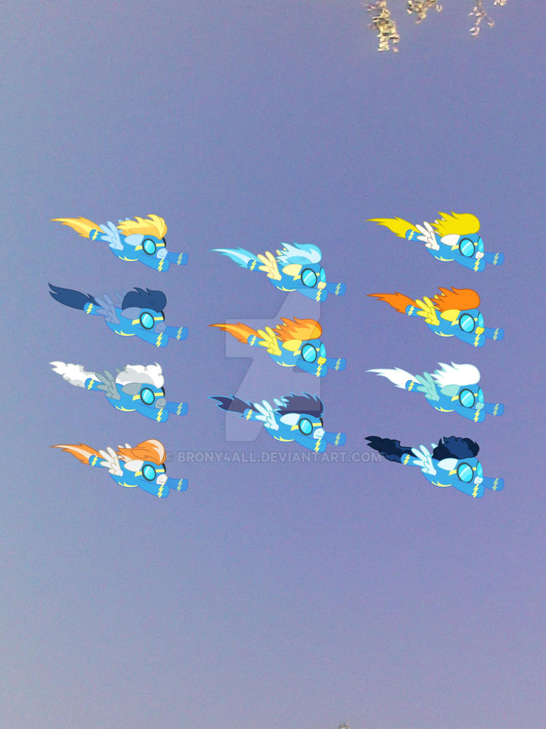 (pirl) It's The Wonderbolts!!!!! Omg by brony4all