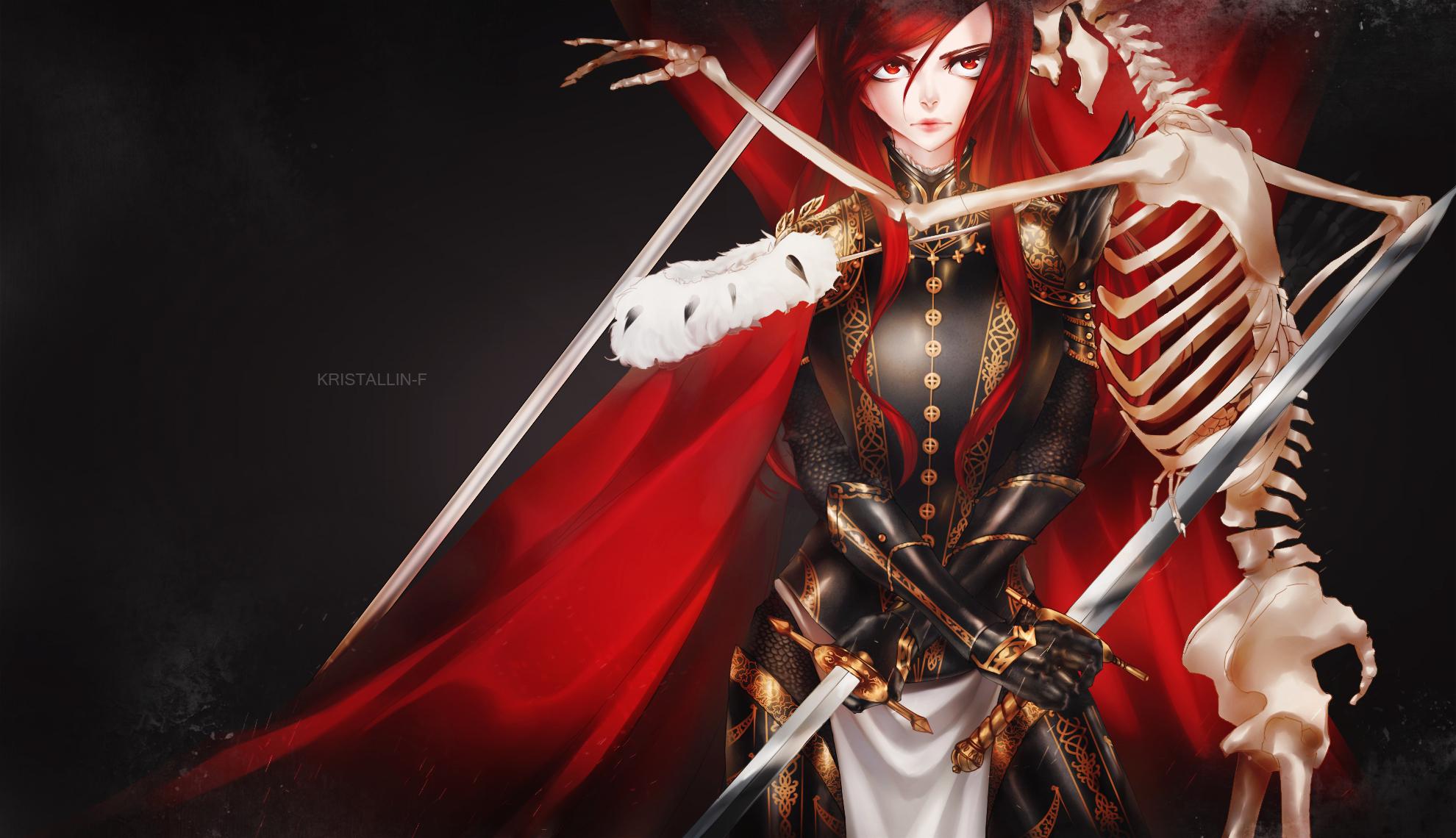 FT a warrior's heart by Kristallin-F