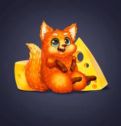 Cheese fox