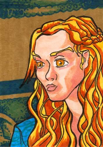 Cersei Lannister by burning-thirteen