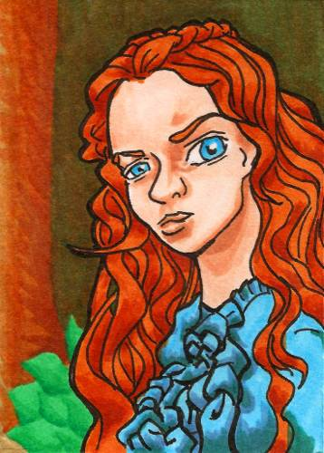 Sansa Stark by burning-thirteen