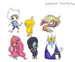 Adventure Time Keychain Set