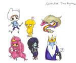 Adventure Time Keychain Set