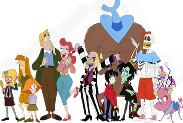 Beetlejuice Group Shot by Dext