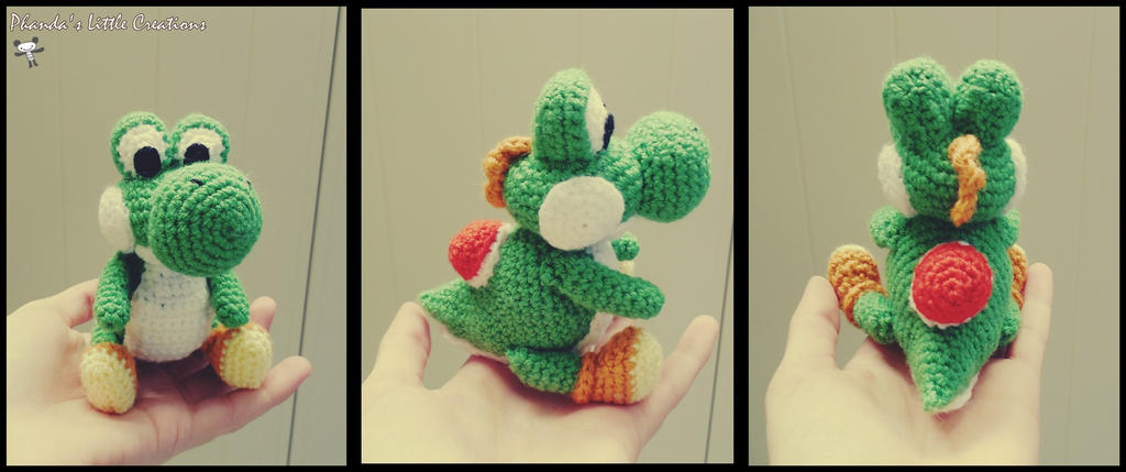Crochet Pattern Free Amigurumi : Woolly Yoshi Amigurumi by FlyNnBasS on DeviantArt