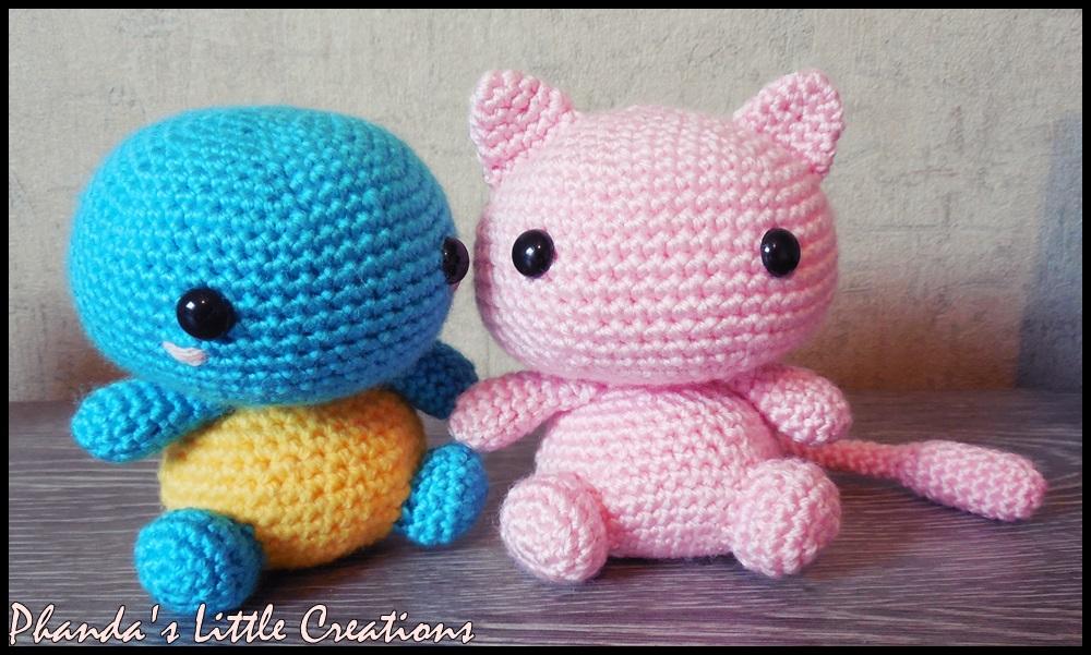 Hand Crochet Custom Amigurumi Pokemon MEW Plushie   #250740736   601x1000