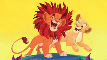 Vitani and Nala ~ I just can't wait to be queen