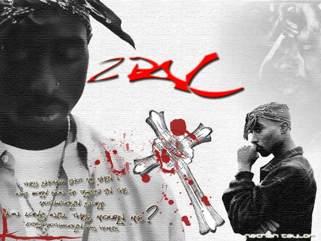 Tupac -RIP- by foulplayer99