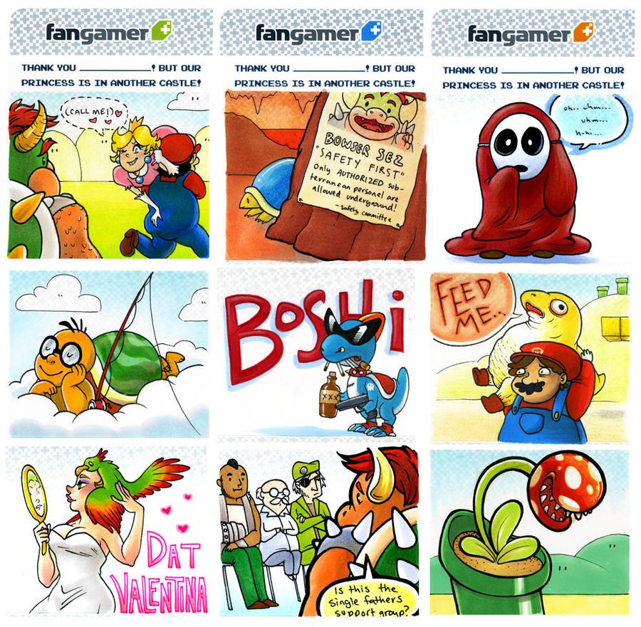Mario Slips Highlights! by lauramw