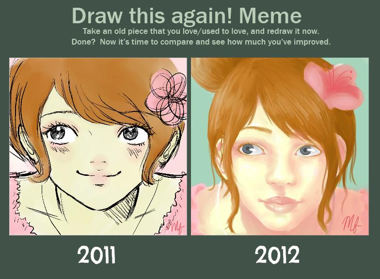 Draw This Again Meme! by Xoxochi