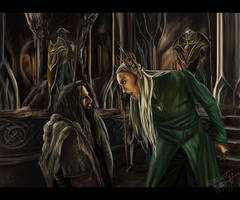 -3    Thranduil and Thorin