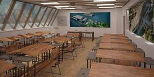 Classroom - 3Ds Max part1