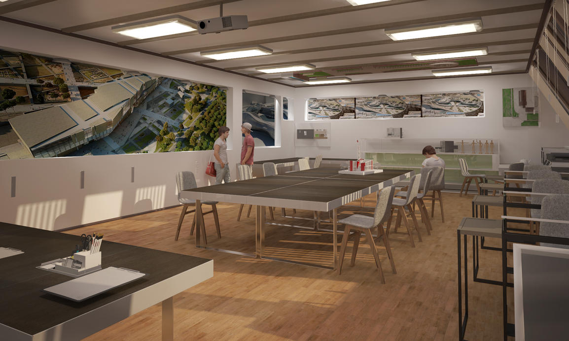 Classroom Design Models ~ Classroom interior ds max by msriin on deviantart