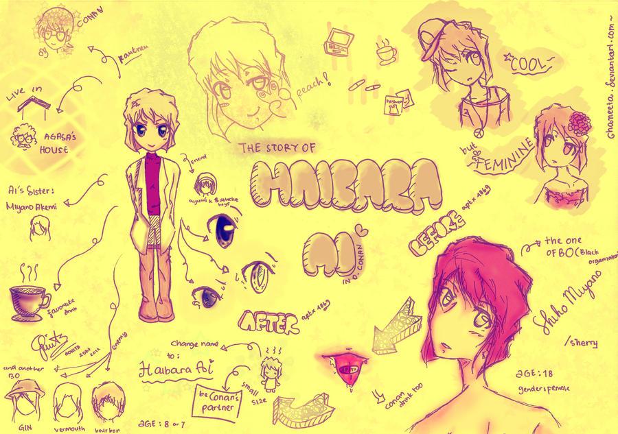 Ai Haibara doodle Story by ChaNeeta