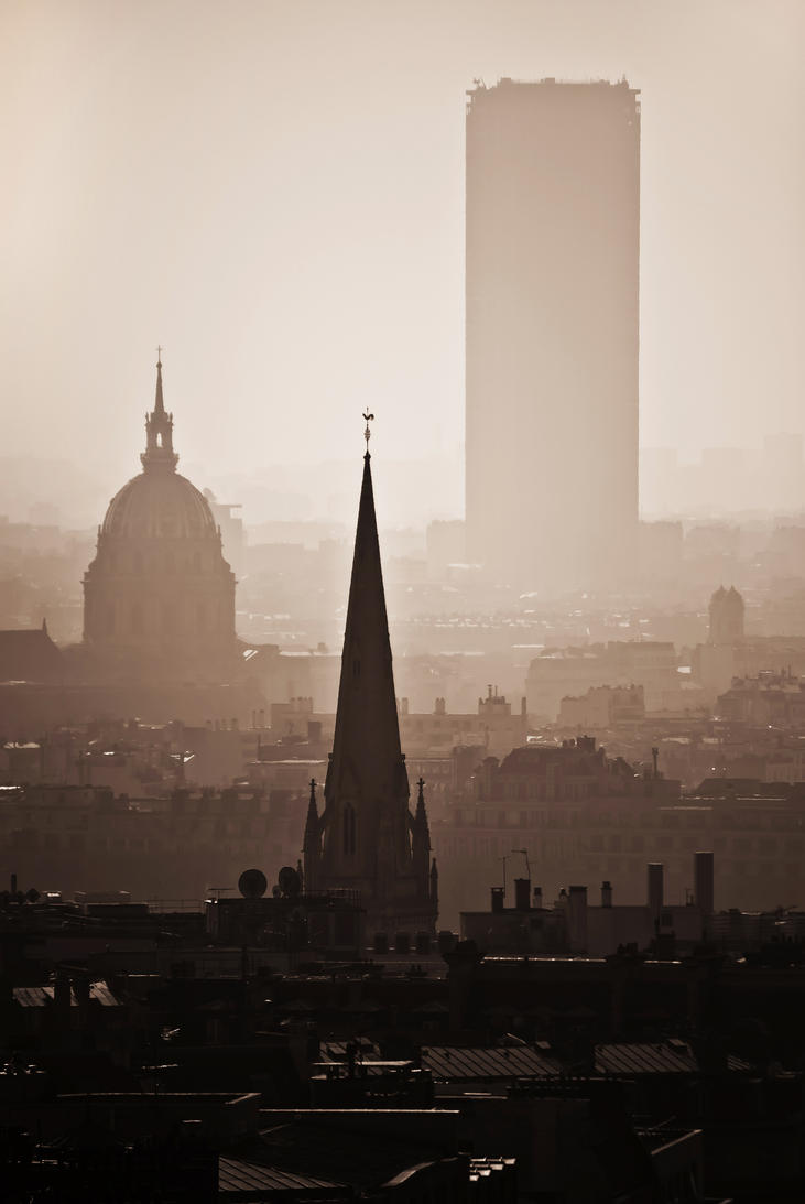 Paris in the early morning. by MarioGuti