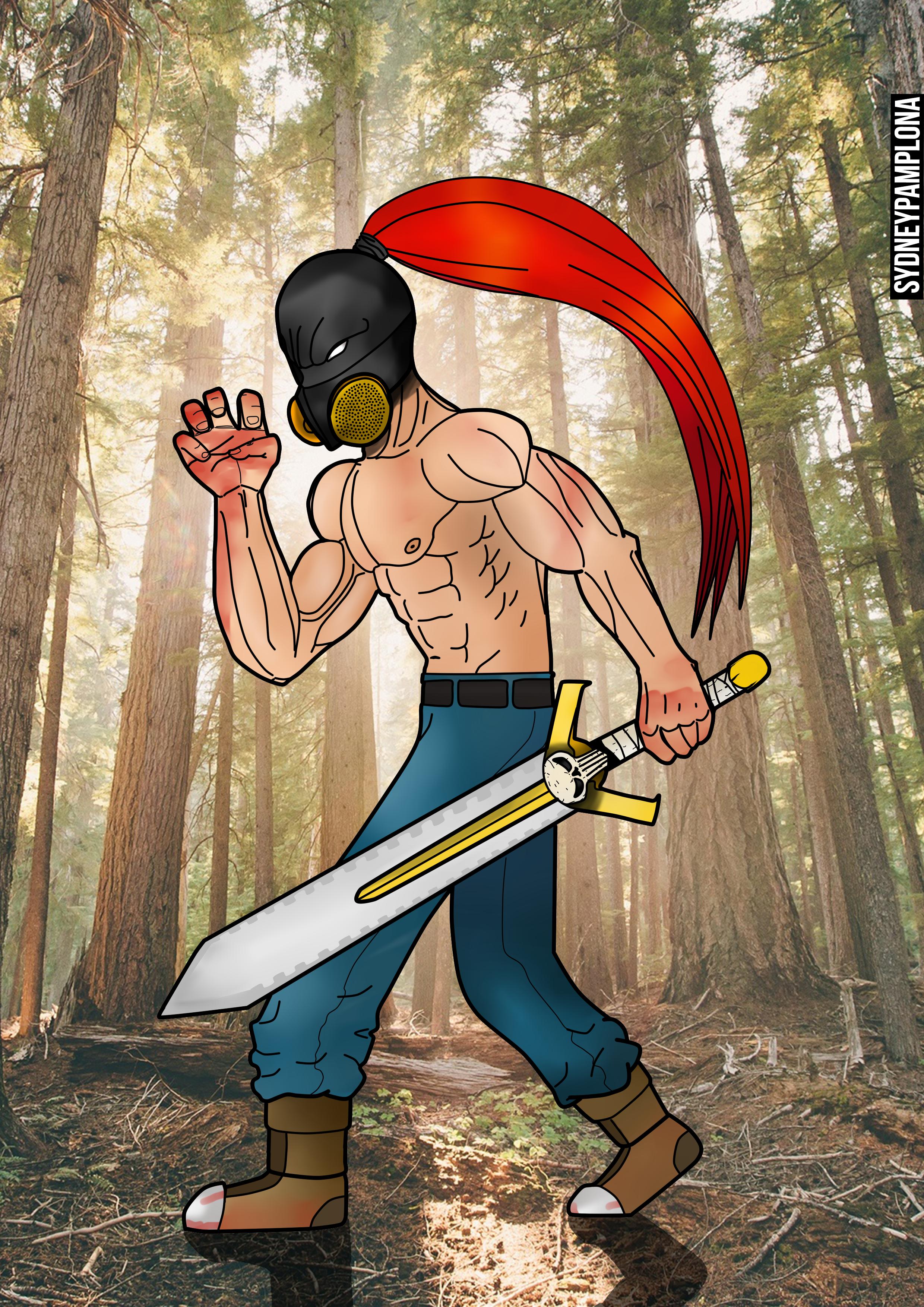 Fury Sword by sydneypamplona