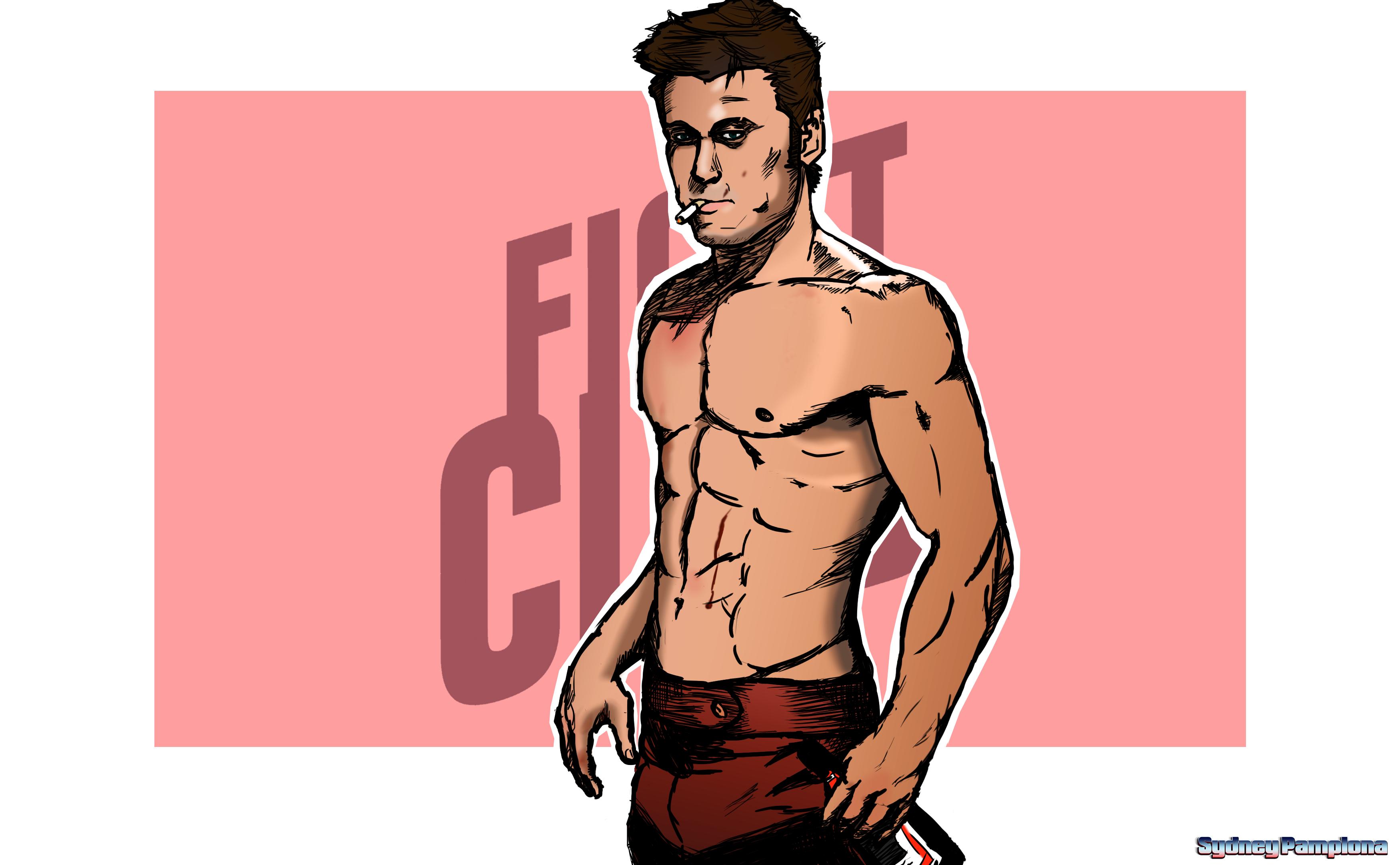 FIght Club Tyler/Jack by sydneypamplona