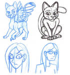 Kitties and Hyoomans by Xeroxed-Animus