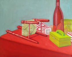 Red and Yellow Still Life by Xeroxed-Animus