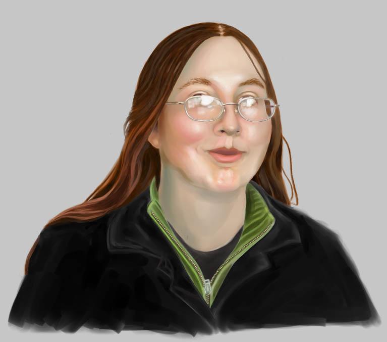 Self Portrait - Painting