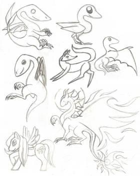 Cutesies Sketches