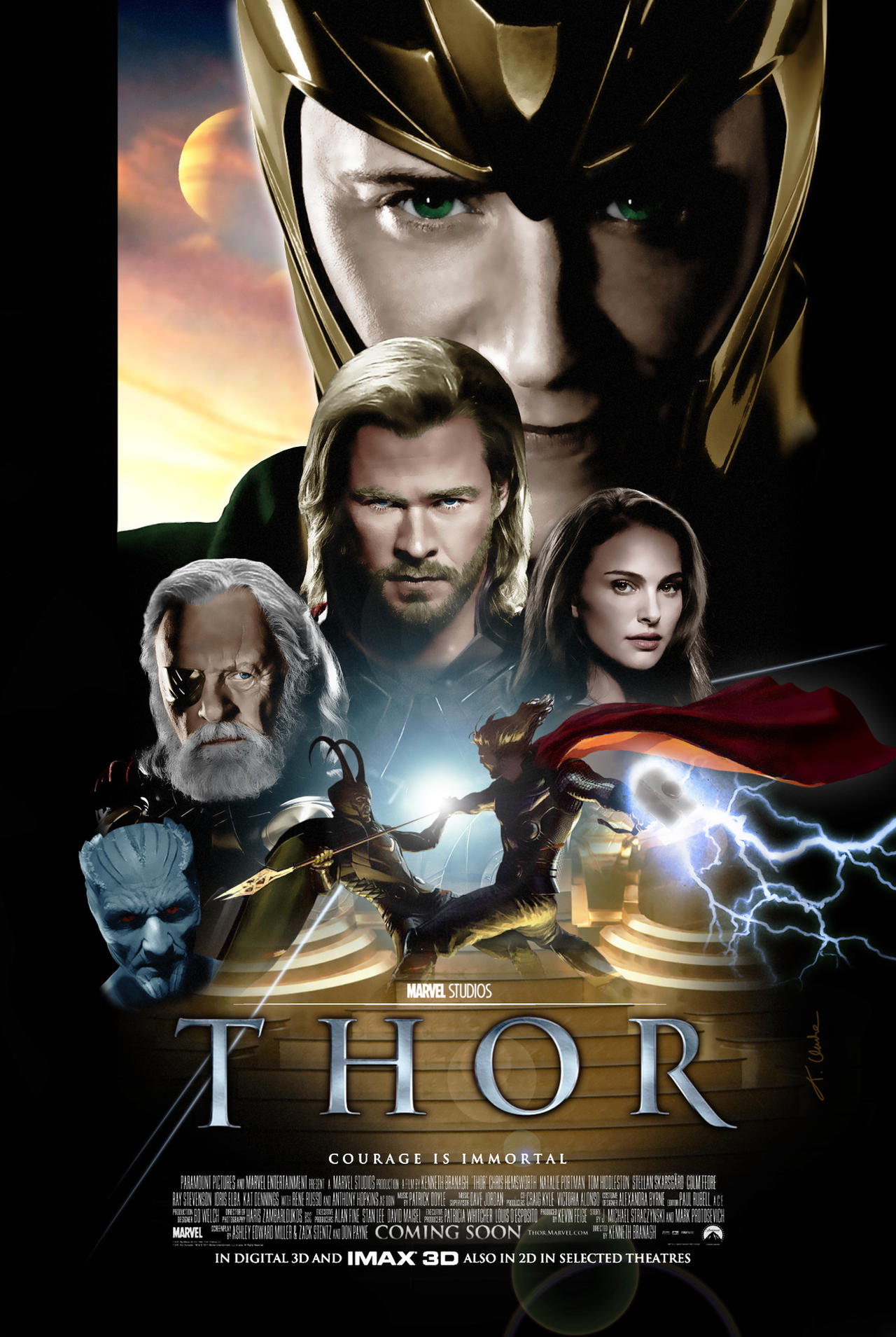 Drew Struzan Thor Poster by tclarke597 on DeviantArt
