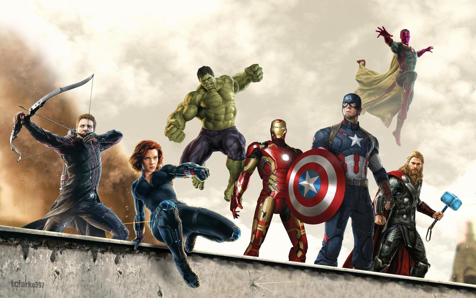 Avengers Wallpaper by tclarke597