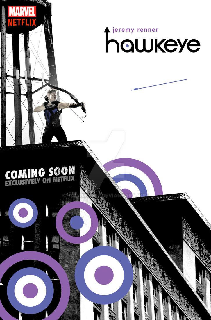 Hawkeye Netflix Poster (Version 2) by tclarke597