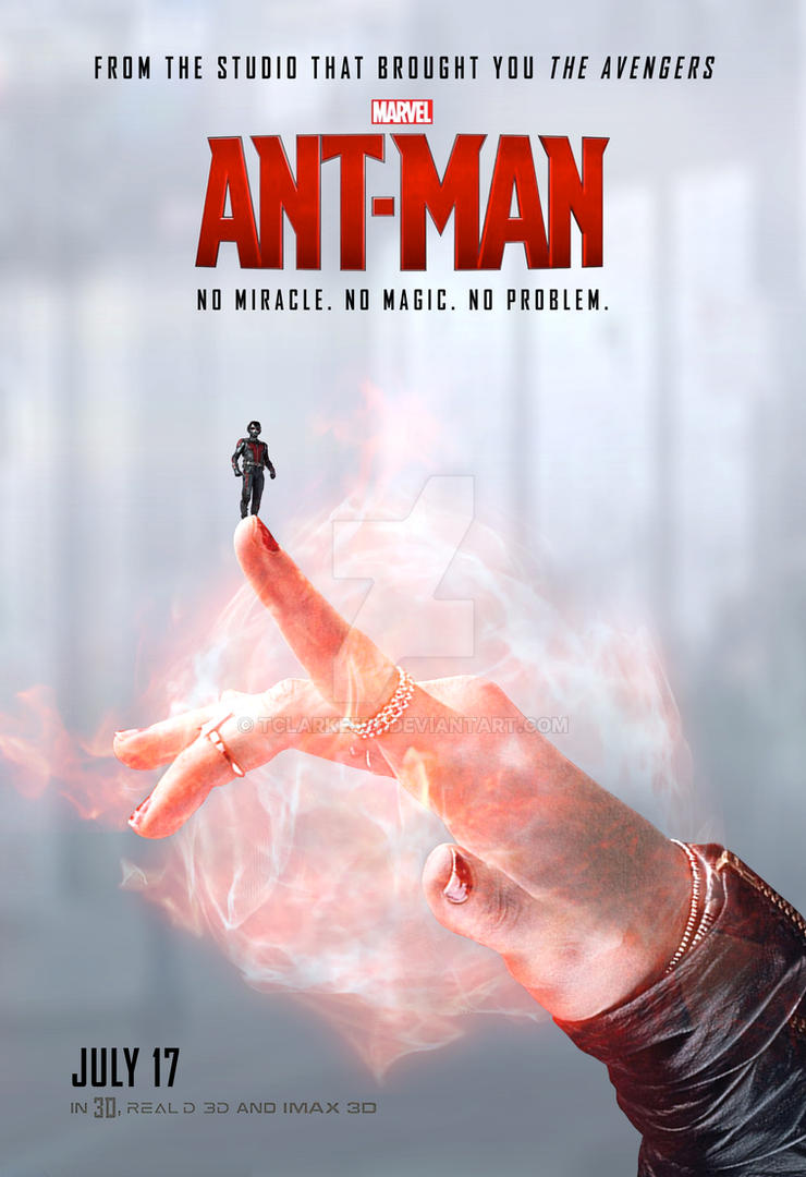 Ant-Man Poster (Scarlet Witch) by tclarke597