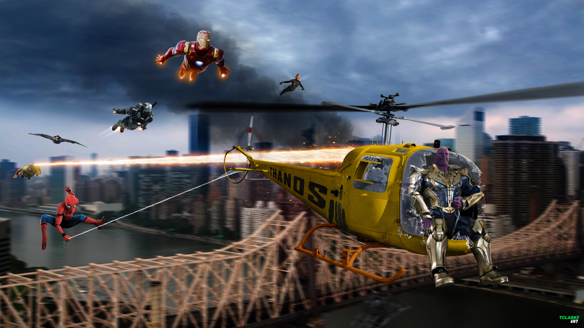 Fantastic Thanoscopter Infinity War Wallpaper - thanoscopter_by_tclarke597-dbvingz  Trends_817693 .png