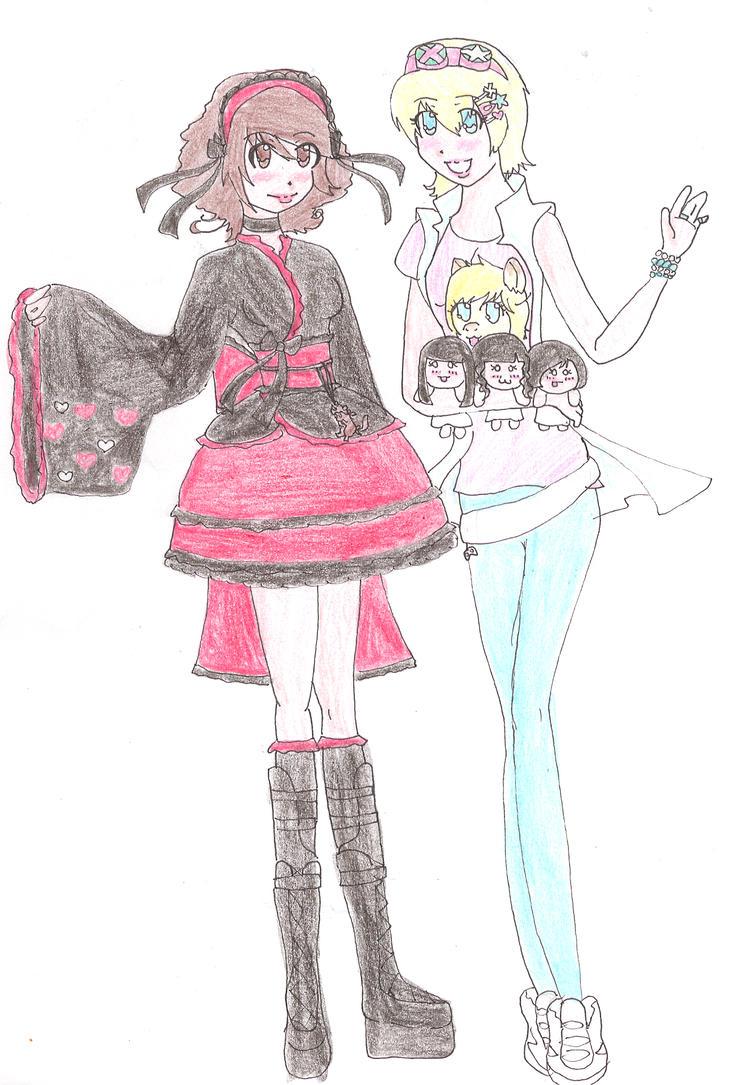 Zadoe and I by Kibo-kun-Ninja-Kitty